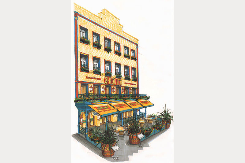 Chiquitos exterior design visual