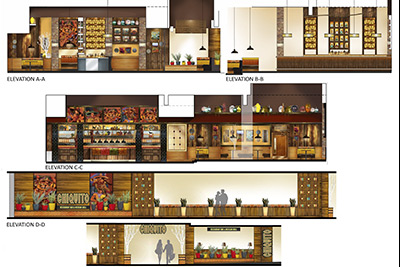 Chiquitos interior design visuals