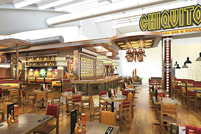 Chiquitos interior design visual