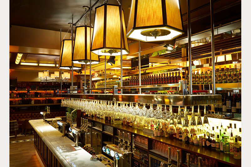 interiors our work harry 39 s bar brasserie newcastle upon tyne
