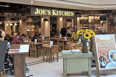 Joe's Kitchen restaurant exterior