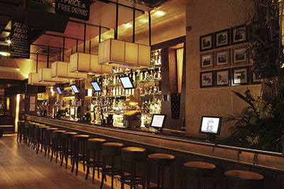 bxb interiors our work the long bar newcastle upon tyne