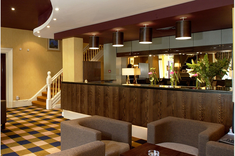 New Northumbria Hotel reception interior